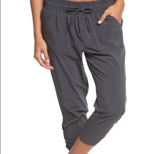 New Black Prana Midtown Capri